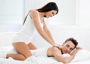 The sexy massage