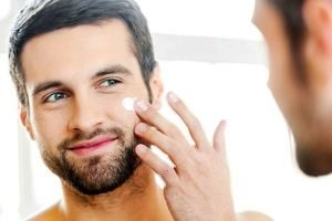 Healthy skin care for men